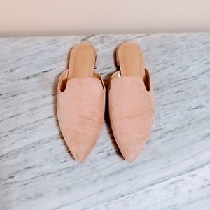 Shoes - Suede Mules